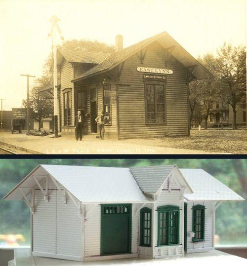East Lynn IL depot RA
