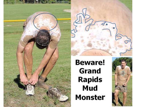 Mud monster