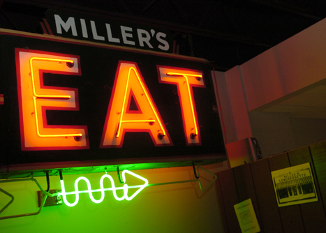 Photo of the Week 2/16/2011    Miller's Luncheonette EAT