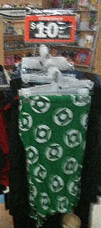 Green lantern shorts on clearance