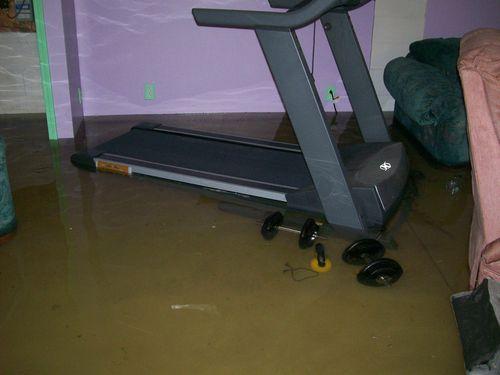 Treadmill flood two