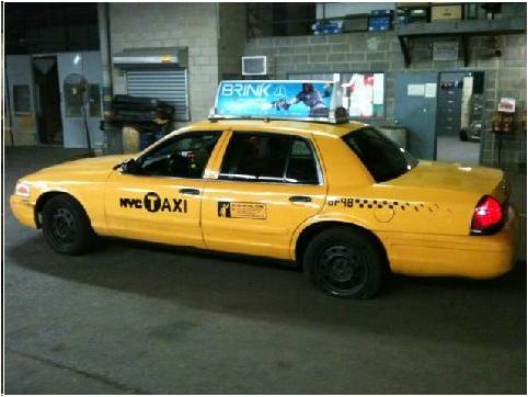 This not be your lucky day taxi