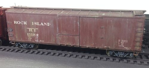 Weathered Boxcar 03