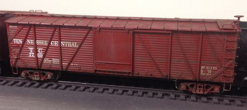Weathered Boxcar 02