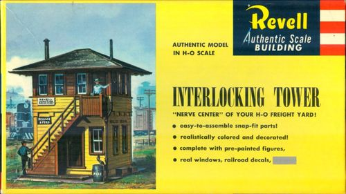 Revell Interelocking Tower