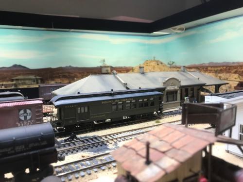 LV&T Goldfield Depot
